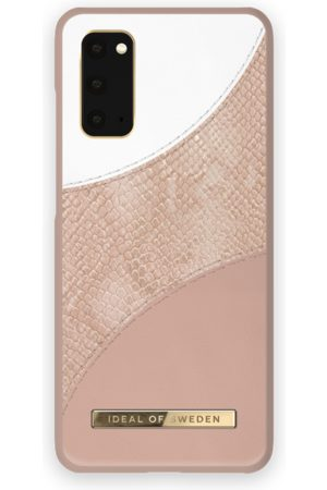 Ideal of sweden Atelier Case Galaxy S20 Blush Pink Snake