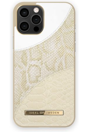 Ideal of sweden Atelier Case iPhone 12 Pro Max Cream Gold Snake