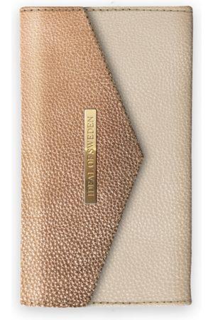 Ideal of sweden Mayfair Clutch LH iPhone XR Golden Pebbled