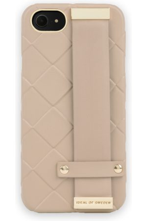 Ideal of sweden Statement Case iPhone 8 Braided Light Camel