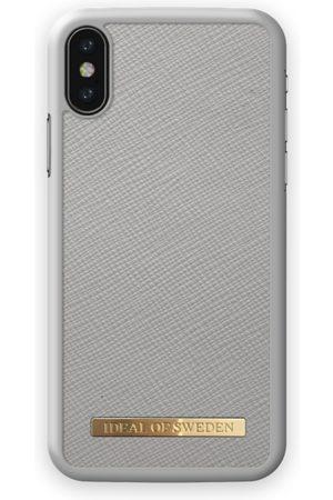 Ideal of sweden Saffiano Case iPhone X Light Grey