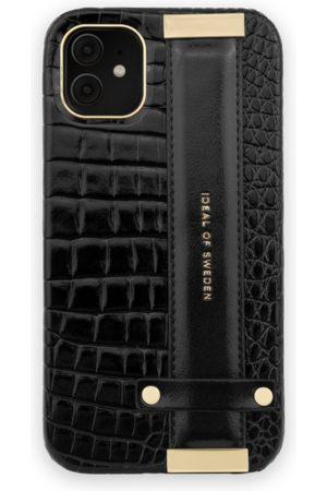 Ideal of sweden Statement Case iPhone 11 Neo Noir Croco Strap handle