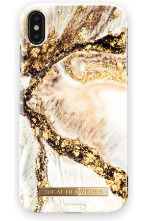 Ideal of sweden Fashion Case Hannalicious iPhone XS Max Golden Swirl