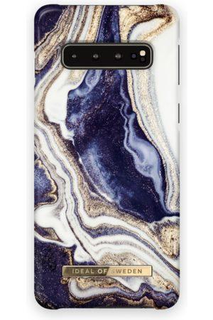Ideal of sweden Fashion Case Galaxy s10 Golden Indigo marble