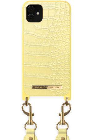 Ideal of sweden Necklace Case Montazami iPhone 11 Lemon Croco