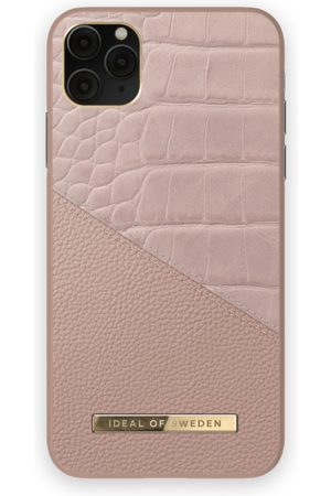 Ideal of sweden Atelier Case iPhone 11 Pro Max Rose Smoke Croco