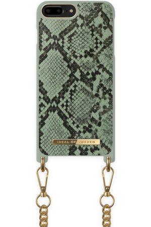 Ideal of sweden Necklace Case iPhone 8P Khaki Python
