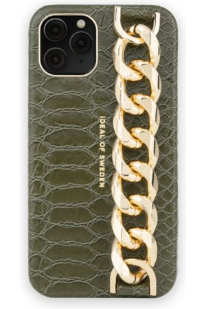 Ideal of sweden Statement Case iPhone 11 Pro Green Snake - Chain handle