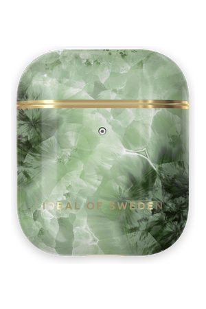 Ideal of sweden Fashion AirPods Case Crystal Green Sky