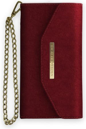 Ideal of sweden Mayfair Clutch Velvet iPhone Xs Max Red