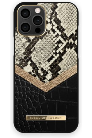 Ideal of sweden Atelier Case iPhone 12 Pro Max Midnight Python