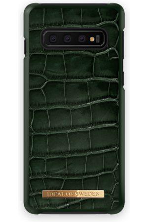 Ideal of sweden Croco Case GALAXY S10 Evergreen