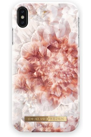 Ideal of sweden Fashion Case Hannalicious iPhone XS Max Rose Quartz Crystal