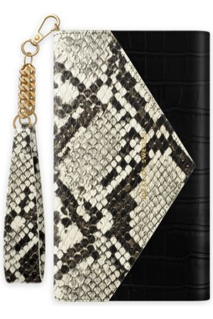 Ideal of sweden Envelope Clutch iPhone 12 Pro Max Midnight Python