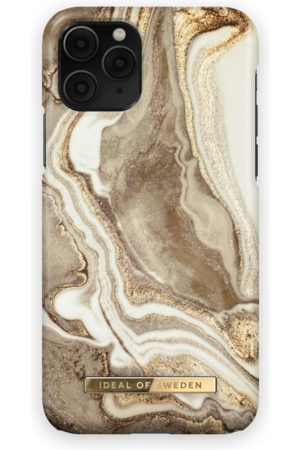 Ideal of sweden Fashion Case iPhone 11 Pro Golden Sand Marble