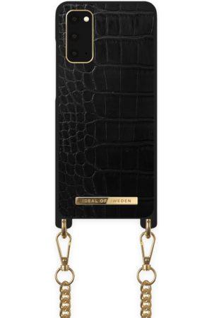 Ideal of sweden Necklace Case Galaxy S20 Jet Black Croco