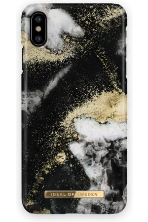 Ideal of sweden Fashion Case iPhone X Black Galaxy Marble