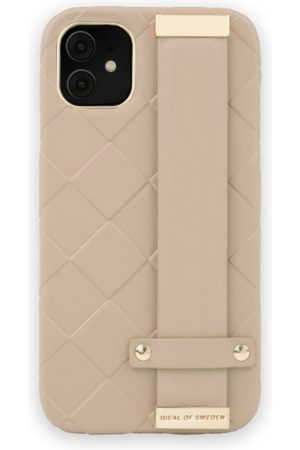 Ideal of sweden Statement Case iPhone 11 Braided Light Camel