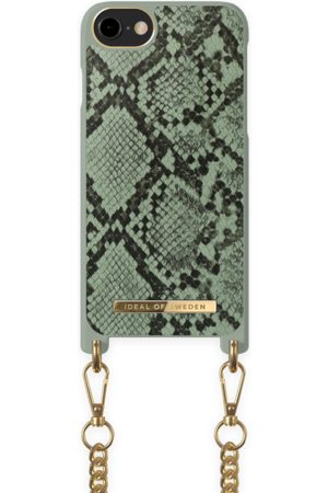 Ideal of sweden Necklace Case iPhone 8 Khaki Python