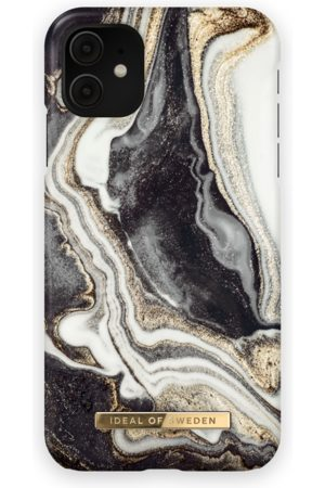 Ideal of sweden Fashion Case iPhone 11 Golden Ash marble