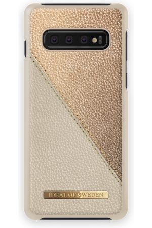 Ideal of sweden Fashion Case LH GALAXY S10 Golden Pebbled