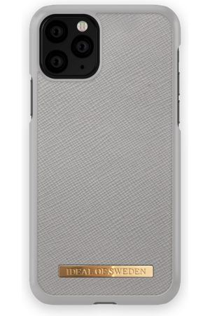 Ideal of sweden Saffiano Case iPhone 11 Pro Light Grey