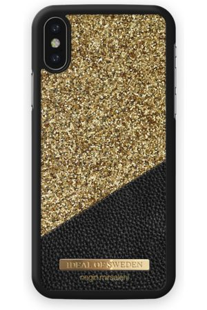 Ideal of sweden Fashion Case Negin iPhone X Night out Gold