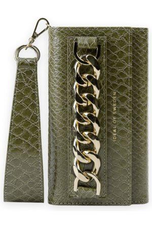 Ideal of sweden Studio Clutch iPhone 12 Green Snake