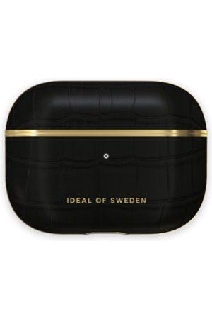 Ideal of sweden Atelier AirPods Case Pro Jet Black Croco