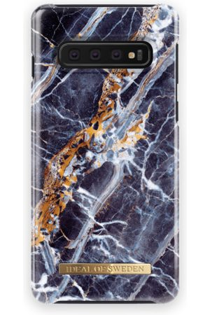 Ideal of sweden Fashion Case Galaxy S10 Midnight Blue Marble