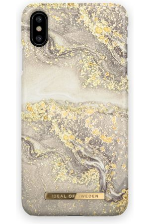 Ideal of sweden Fashion Case iPhone XS Max Sparkle Greige Marble