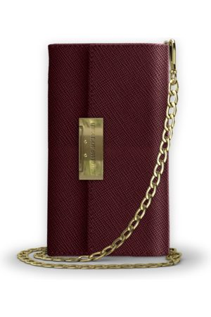 Ideal of sweden Kensington Clutch iPhone XR Burgundy