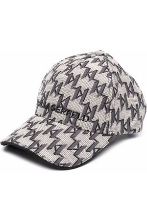 Karl Lagerfeld Naiset Hatut - K/Monogram jacquard logo cap