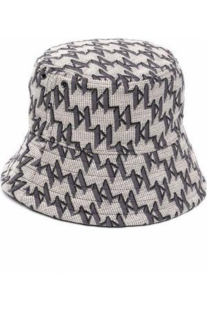 Karl Lagerfeld K/Monogram jacquard bucket hat