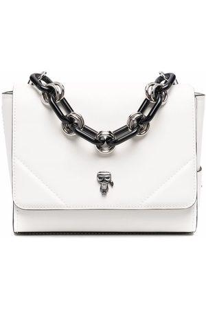 Karl Lagerfeld Ikonik 3D-Pin tote bag