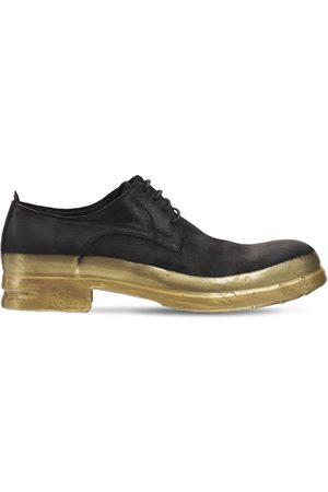 MATTIA CAPEZZANI Miehet Loaferit - Leather Lace-up Shoes W/ Rubberized Sole