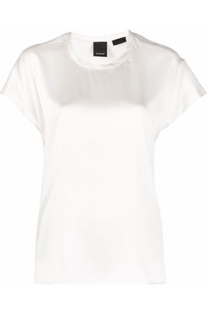 Pinko Round-neck short-sleeve T-shirt
