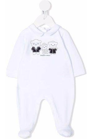 Emporio Armani Bear print babygrow