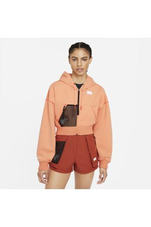 Nike Naiset Fleecetakit - Naomi Osaka Women's Fleece Tennis Top - Orange