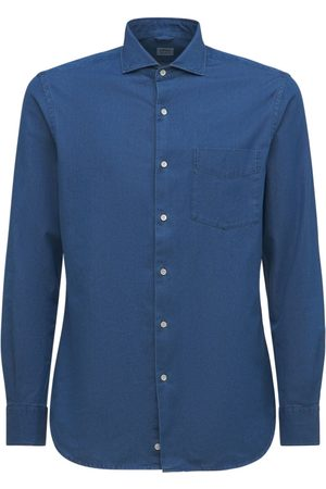 Aspesi Cotton Denim Shirt