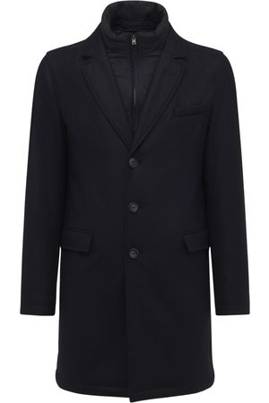HERNO Storm Wool & Cashmere Puffer Coat