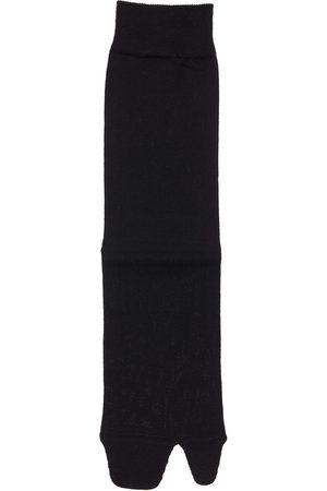 Maison Margiela Naiset Sukat - Cotton Knit Rib Socks