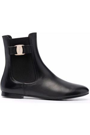 Salvatore Ferragamo Vara Bow Chelsea boots