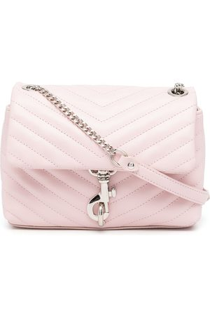 Rebecca Minkoff Edie quilted leather satchel bag