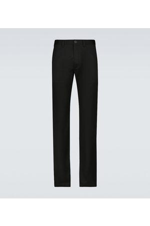 Saint Laurent Miehet Chinot - Stretch-cotton gabardine chino pants