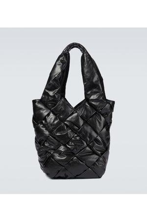 Bottega Veneta Cassette Intreccio leather tote bag