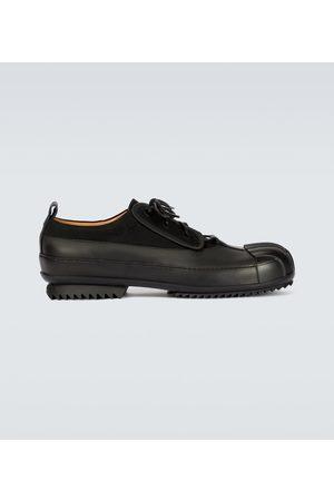 Maison Margiela Bi-fabric chunky Derby shoes