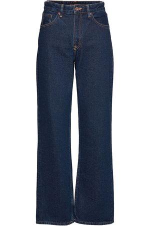 Nudie Jeans Clean Eileen Straight/regular Sininen