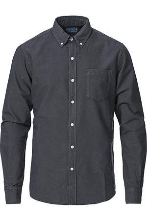 Colorful Standard Classic Organic Oxford Button Down Shirt Lava Grey