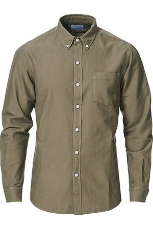 Colorful Standard Miehet Bisnes - Classic Organic Oxford Button Down Shirt Dusty Olive
